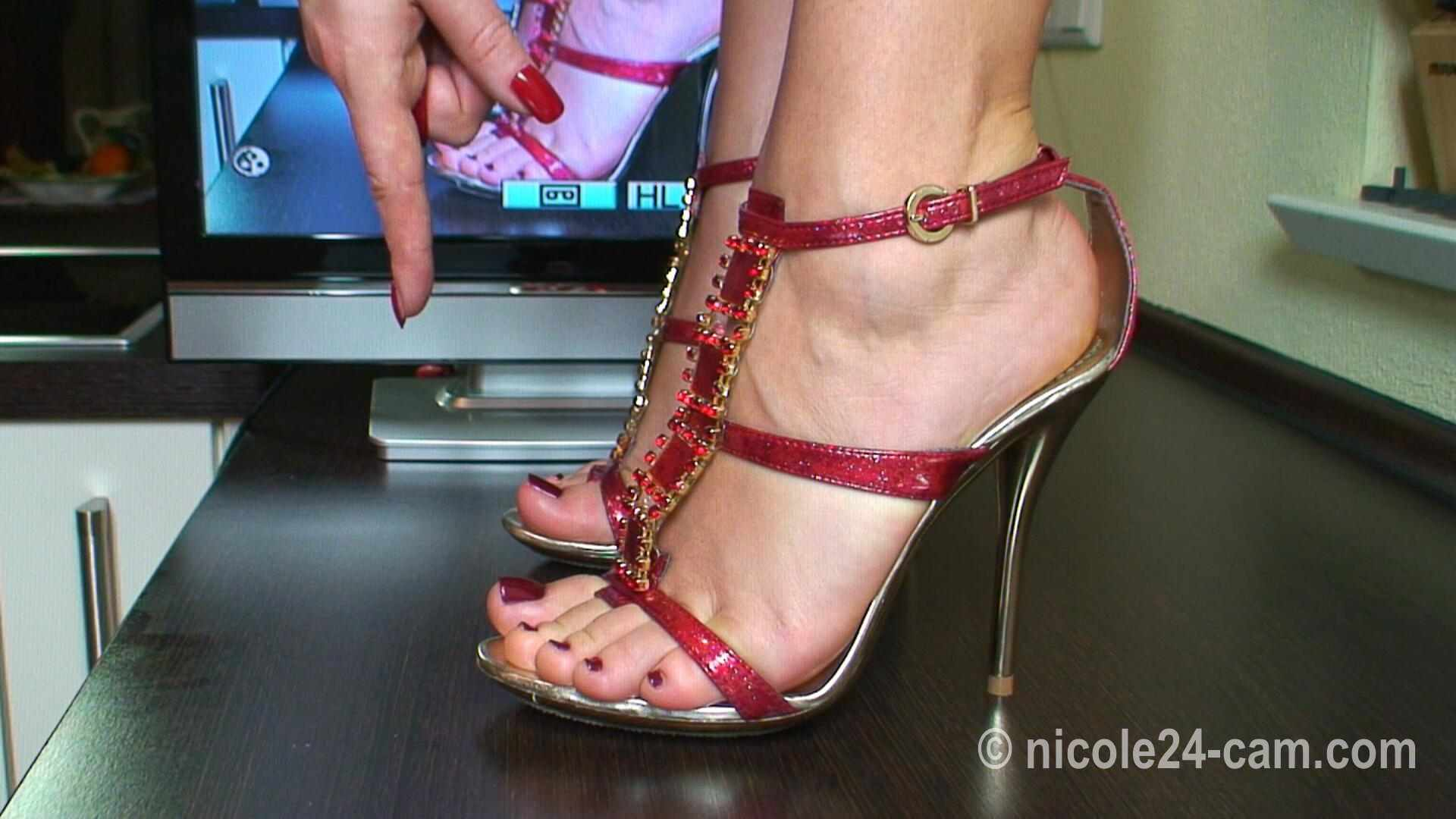 Women High Heels Stockings