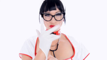Handjob from sexy Nurse