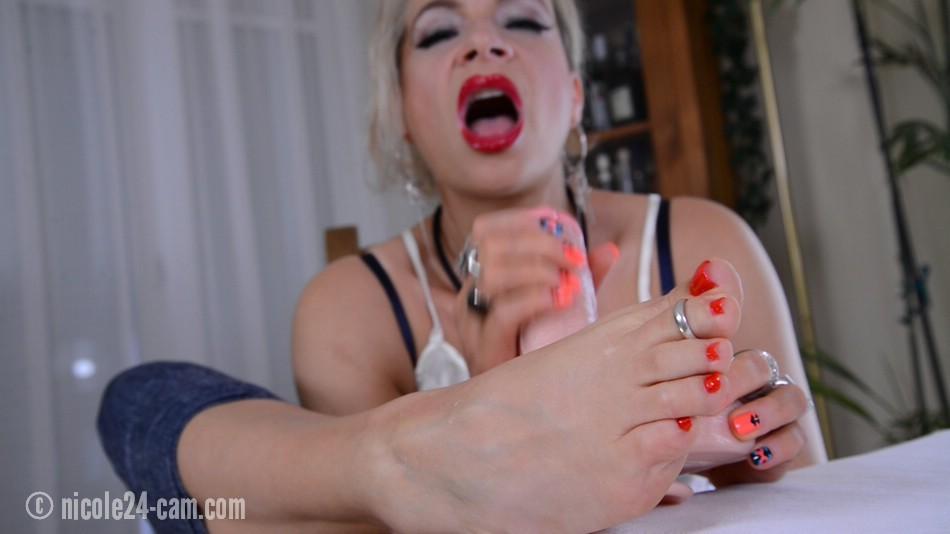 Lippenstift Blowjob-Videos