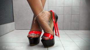 high heels wichsen